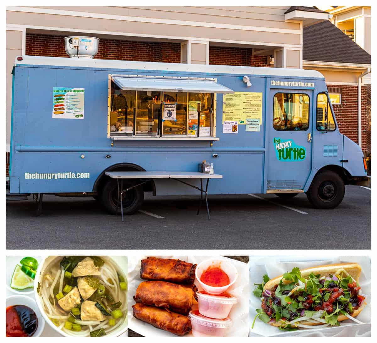 Richmond, VA food trucks: The Hungry Turtle food truck and menu items