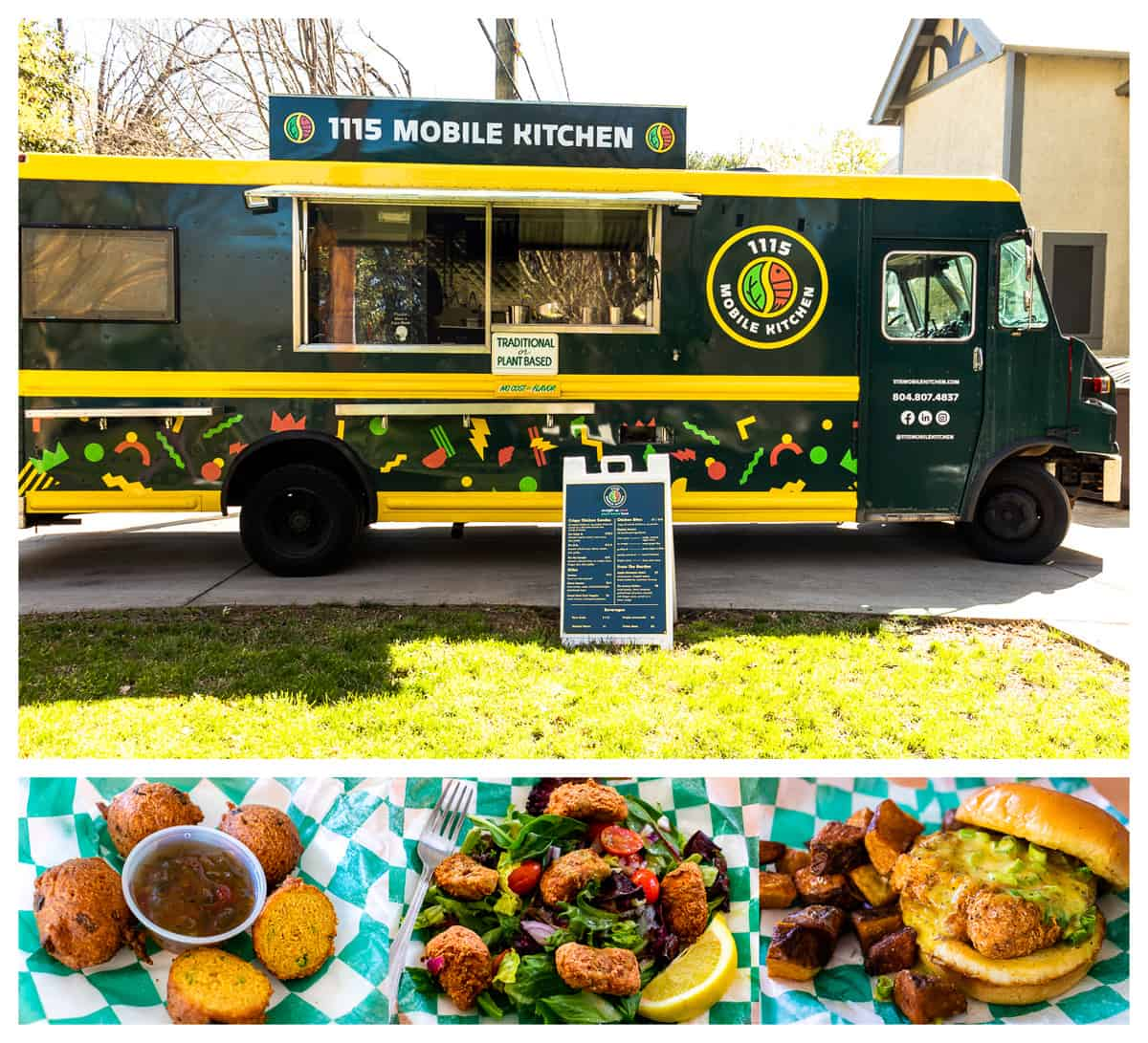 1115 Mobile Kitchen food truck