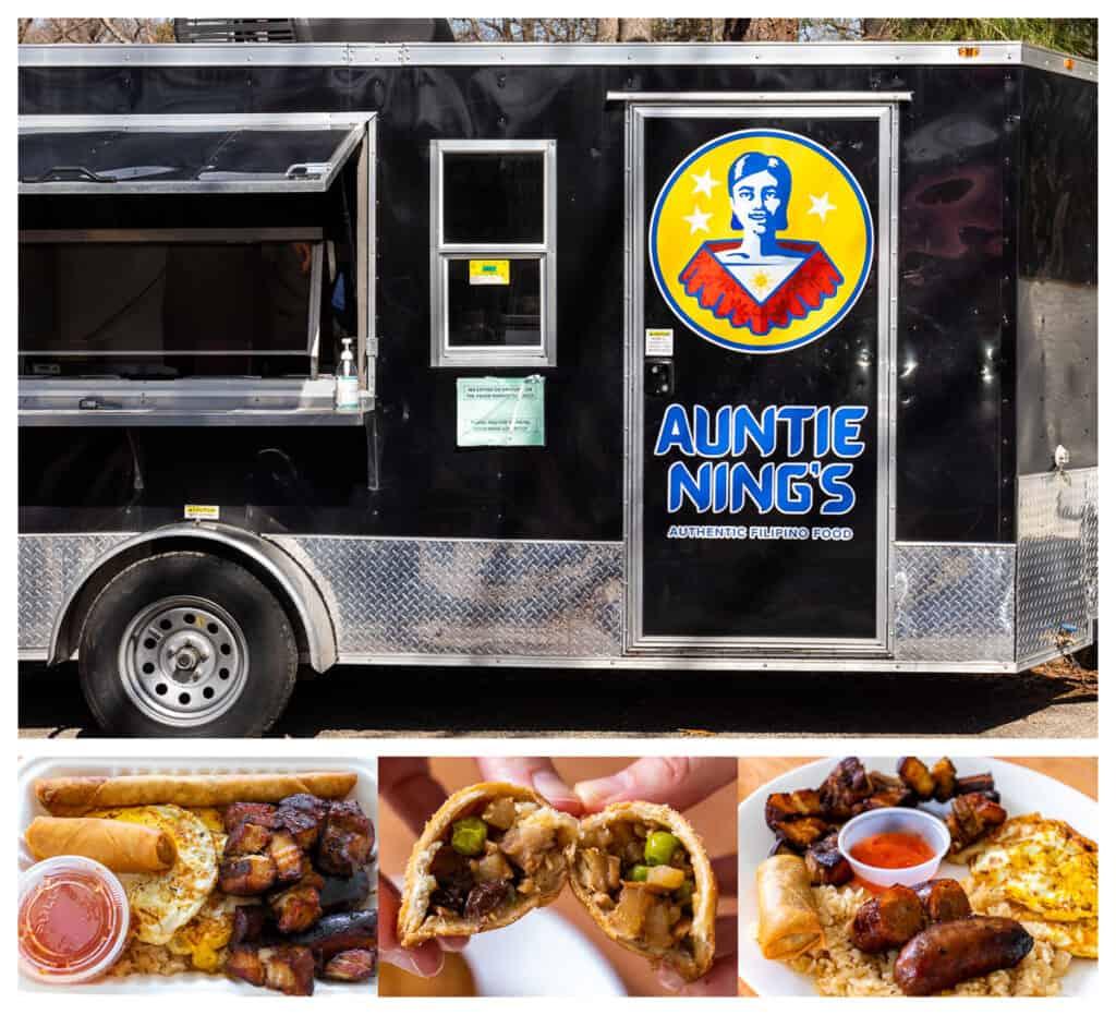 Richmond, VA food trucks: Auntie Ning's food truck and menu items