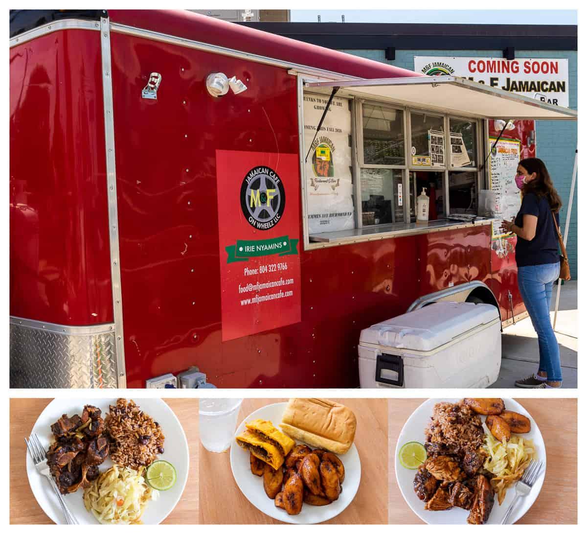 M&F Jamaican Cafe on Wheelz Food Truck