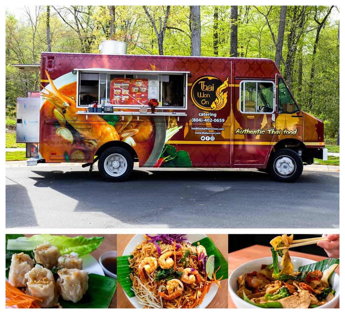 Thai Won On food truck