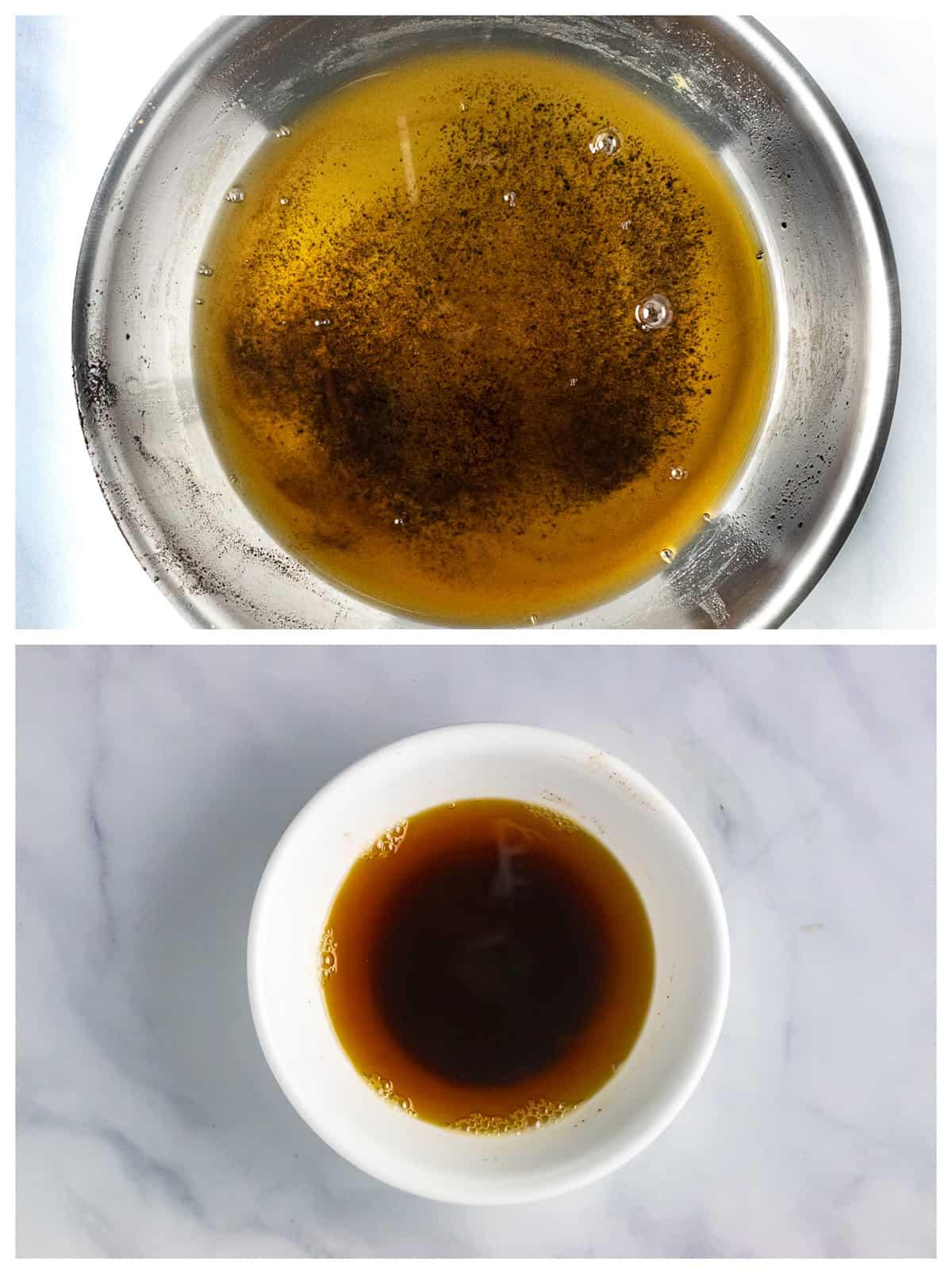 burnt brown butter